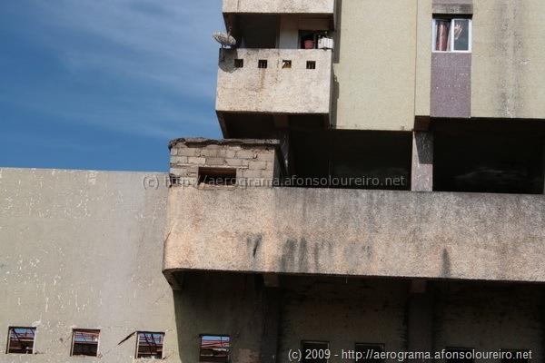 Guarita construída sobre ruína