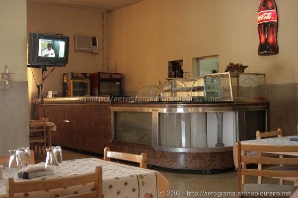 Interior do Restaurante Suiça