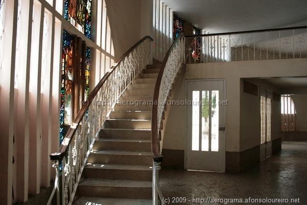 Escadas para o coro