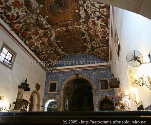 Interior da Igreja do Carmo