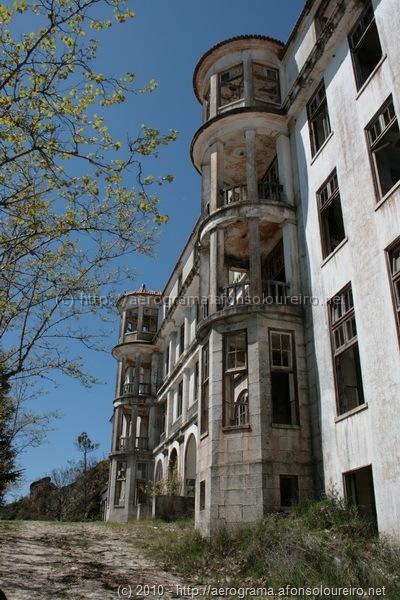 Sanatório dos Ferroviários, na Covilhã