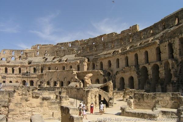 Ruínas do Circo de El Jem, Tunísia
