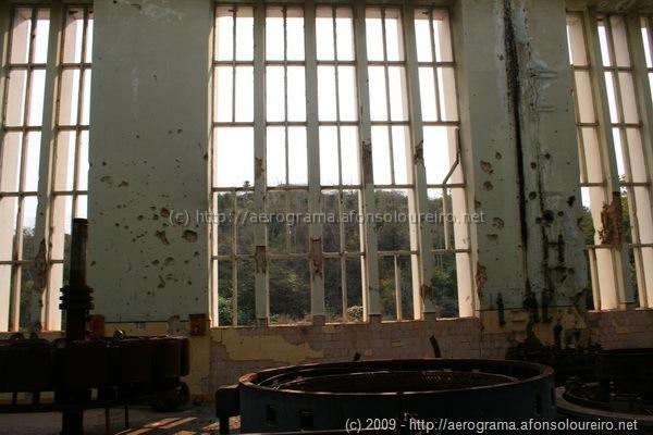 Interior da central