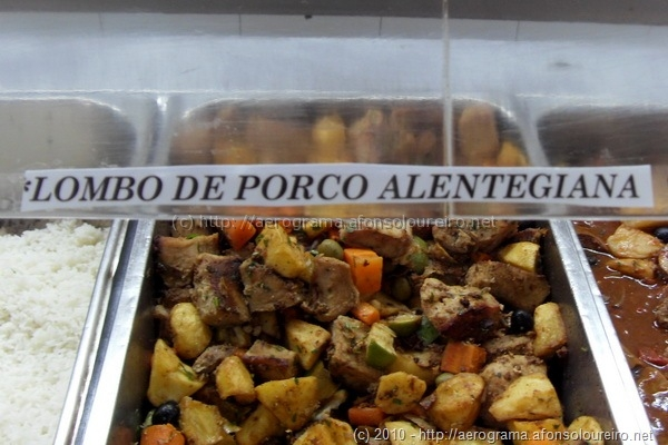 Carne de porco à Alentegiana