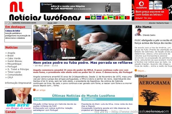 Notícias Lusófonas