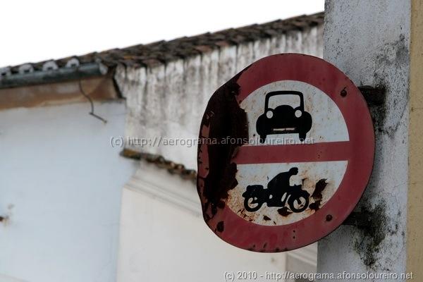 Trânsito proibido