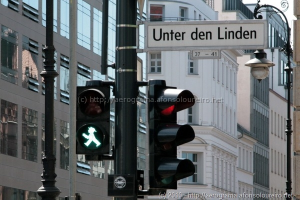 Unter den Linden, Ampelmann