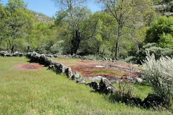 Muros de pedra solta