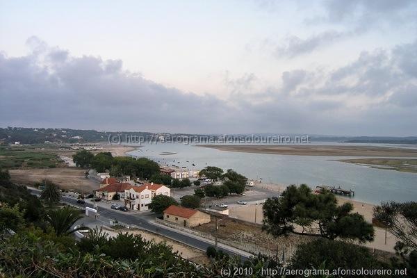 Foz do Arelho, a lagoa de Óbidos