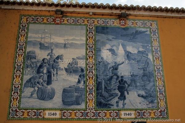 Painéis de azulejos da fábrica da pólvora de Barcarena