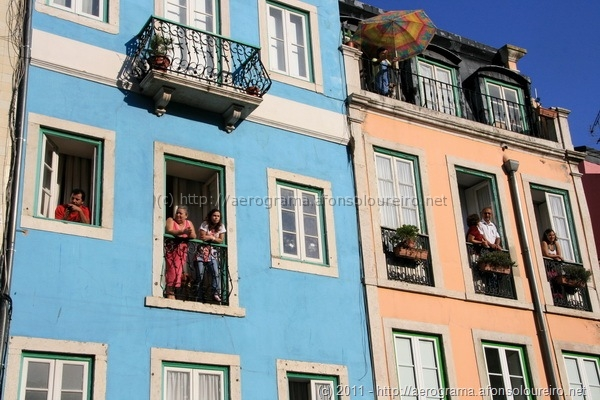 Espectadores à janela