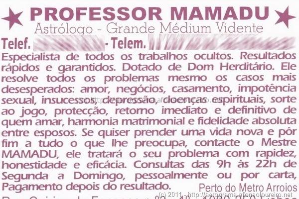 Feiticeiro Mamadu