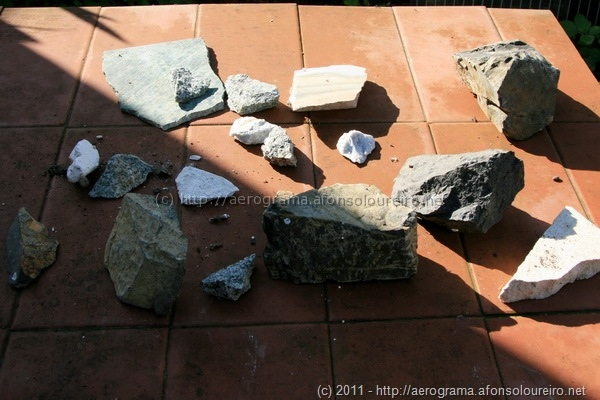 Amostras geológicas