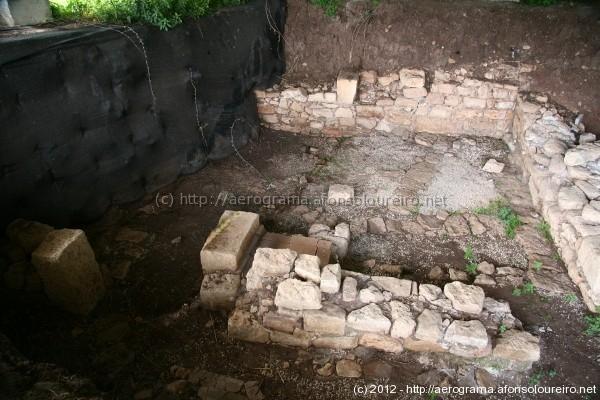 Ruínas romanas na Amadora