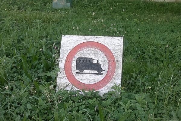 Trânsito proibido a pesados